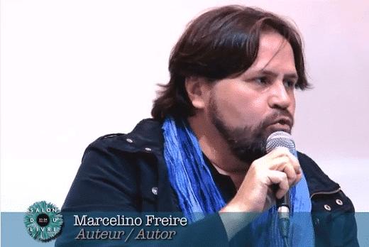 Marcelino Freire au Salon du Livre 2014