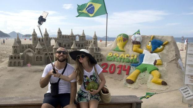 Touristes au Brésil