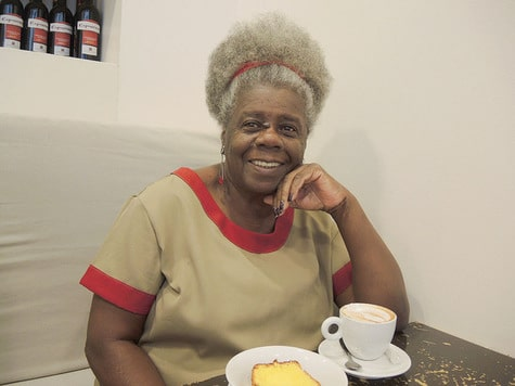 La romancière brésilienne Conceição Evaristo, arrière-petite-fille d'esclaves, aujourd'hui docteur en littérature comparée.© F. Schneider