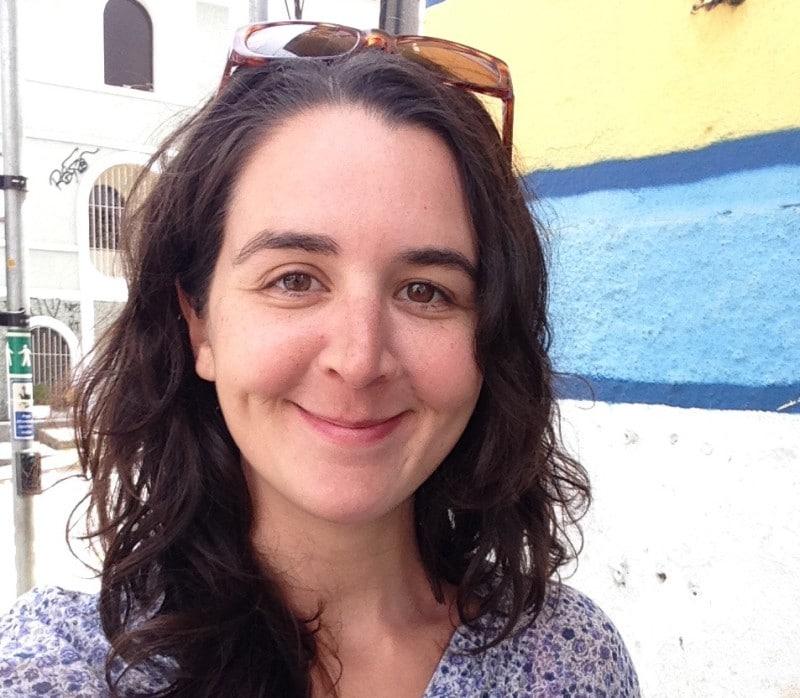 L'auteure Marie Naudascher