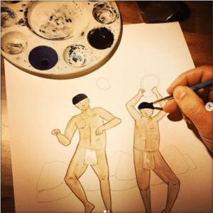 Claudia Amaral_work in progress