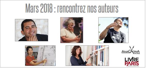 bandeau rencontrez auteurs Anacaona