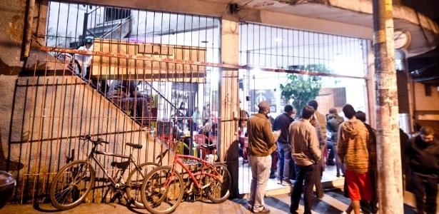 Bar Zé Batidão, où a lieu le sarau Cooperifa ©Letícia Moreira-Folhapress